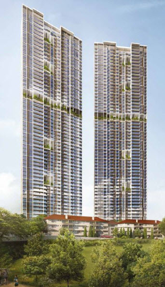 Avenue South Residence by UOL Group Next to Core City Centre Silat Avenue Greater Southern Waterfront